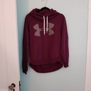 Under Armour sweatshirt, M, maroon